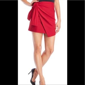 Made in Italy side tie skirt